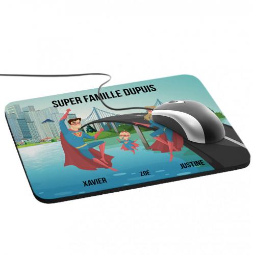 Tapis de souris Super héros