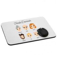 Tapis de souris We Are Family