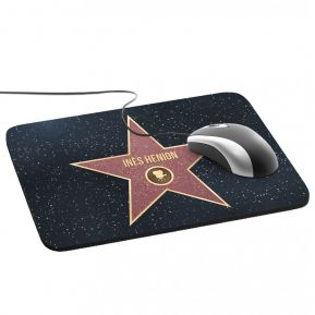 Tapis de souris étoile du Walk of Fame
