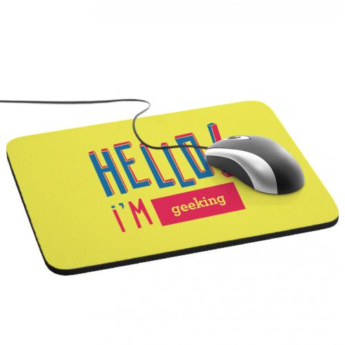 Tapis de souris Hello
