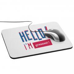 Tapis de souris personnalisée HELLO