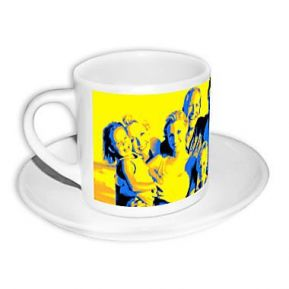 Tasse à expresso pop art