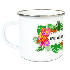 Tasse émaillée personnalisée Fidji