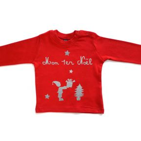 Tee-shirt de Noël personnalisé
