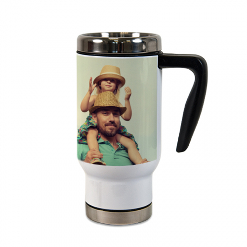 Mug thermos personnalisé photo