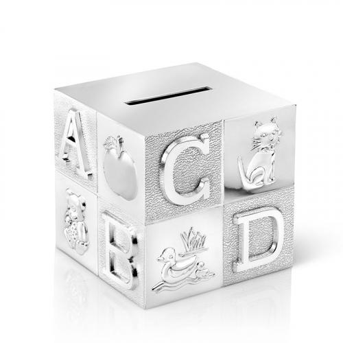 Tirelire Alphabet personnalisée prénom