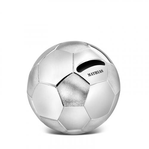Tirelire ballon de football personnalisée prénom
