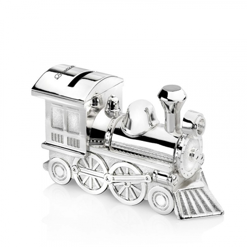 Tirelire locomotive personnalisée d'un prénom