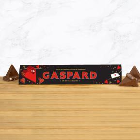 Toblerone personnalisé Amour - 360g Chocolat Noir