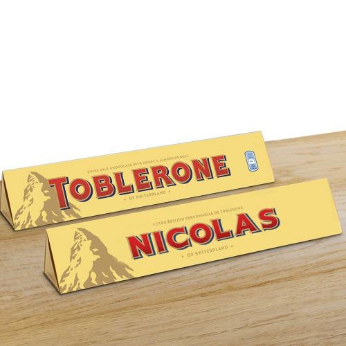Toblerone personnalisé prénom 360 g