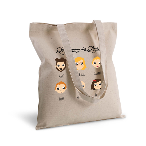 Tote bag personnalisé We Are Family