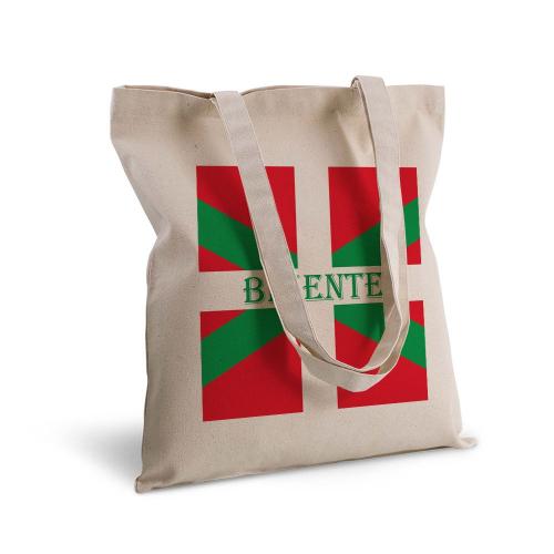 Tote bag Pays Basque personnalisé avec un prénom