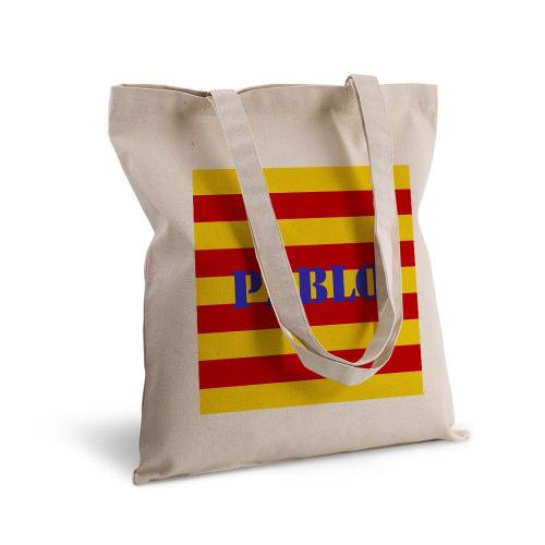 Tote Bag Catalogne personnalisé avec un prénom
