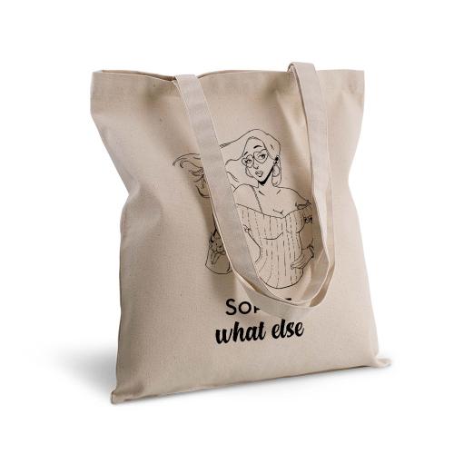 Tote Bag 100% cotton personnalisé collection Les Caractères
