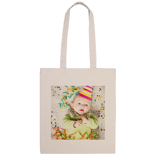 tote bag naturel imprimé born in