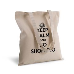 Tote bag deluxe personnalisé Keep Calm
