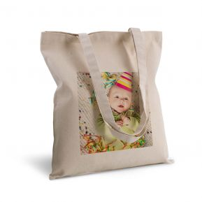 Tote bag deluxe personnalisé photo
