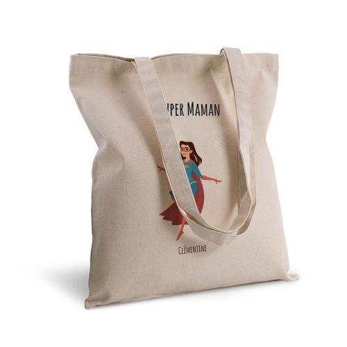 Tote bag personnalisé 1 super héros