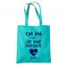 Totebag turquoise