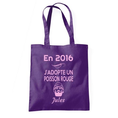 Totebag violet
