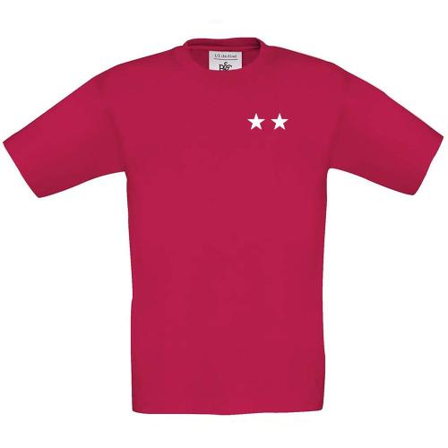 T-shirt enfant personnalisé 2 étoiles sorbet