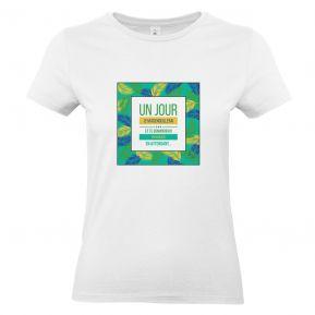 T-shirt femme palmeraie personnalisé