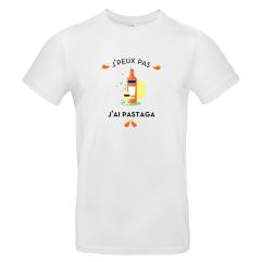 T-shirt homme personnalisé J'peux pas