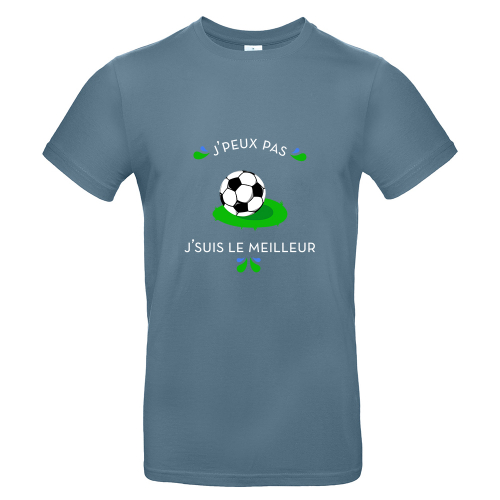 T-shirt homme personnalisé J'peux pas je sui le meilleur