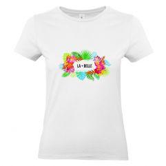 T-shirt femme Fidji personnalisé