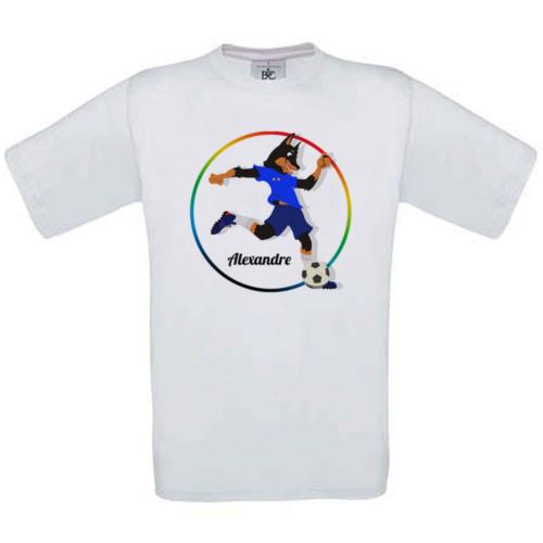 T-shirt mon sport foot