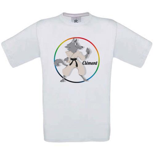 T-shirt mon sport art martial