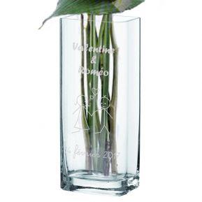 Vase personnalisé Saint Valentin