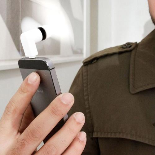 Ventilateur de poche pour iPhone 5/6
