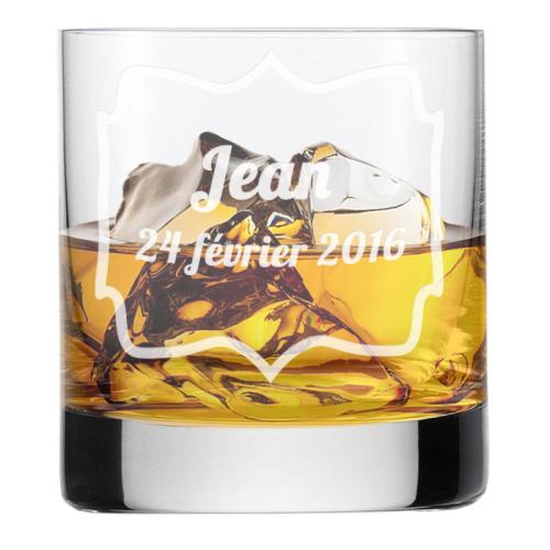 Verre à whisky anniversaire personnalise
