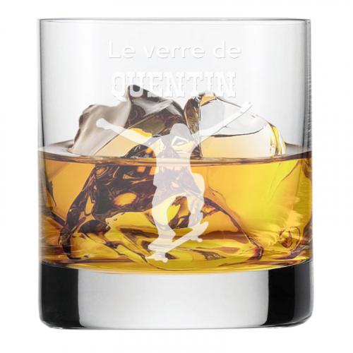 Verre à whisky du sportif personnalisé