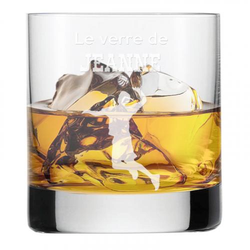 Verre à whisky du sportif volley