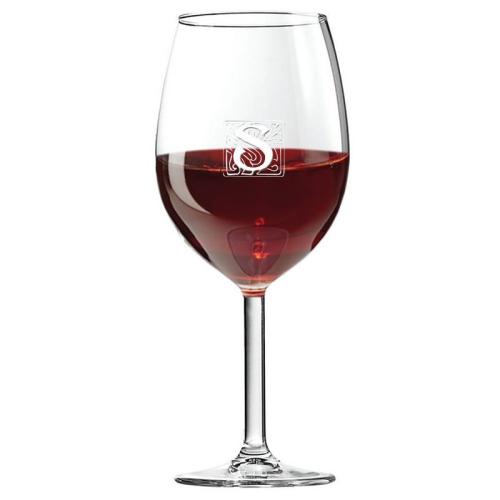 Verre à vin initiale stone