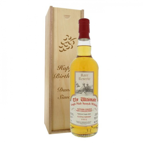 Whisky millésimé personnalisable