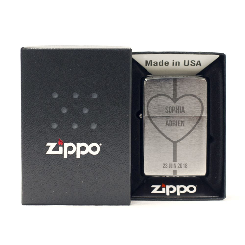 Zippo gravé Saint Valentin