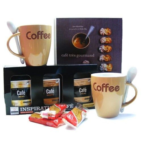 un cadeau de noel homme gourmand le coffret coffee shop. Black Bedroom Furniture Sets. Home Design Ideas