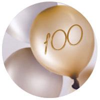 Cadeau d'anniversaire pour une femme de 100 ans