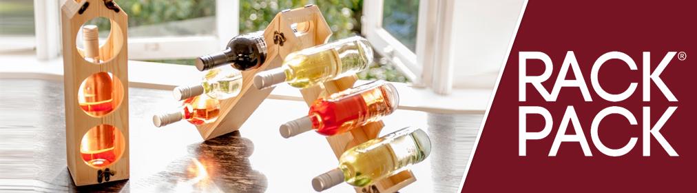 RackPack - Caisses à vin convertibles