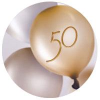 Cadeaux d'anniversaire pour fêter 50 ans