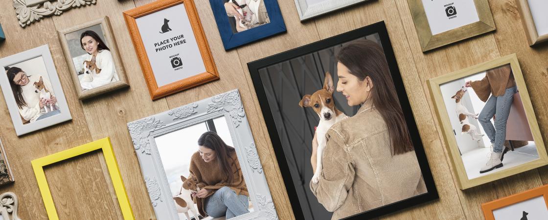 Le cadre photo personnalisé : offrez un cadre photo original pour préserver vos souvenirs
