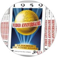 CD et DVD de l'année de naissance