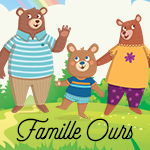 Collection Famille Ours