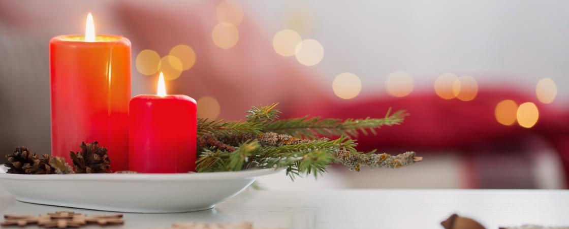 Décoration de Noël d'intérieur