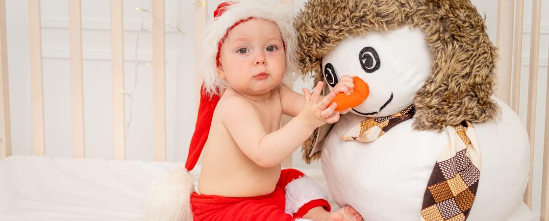 Cadeau de Noël personnalisé et original pour un bébé