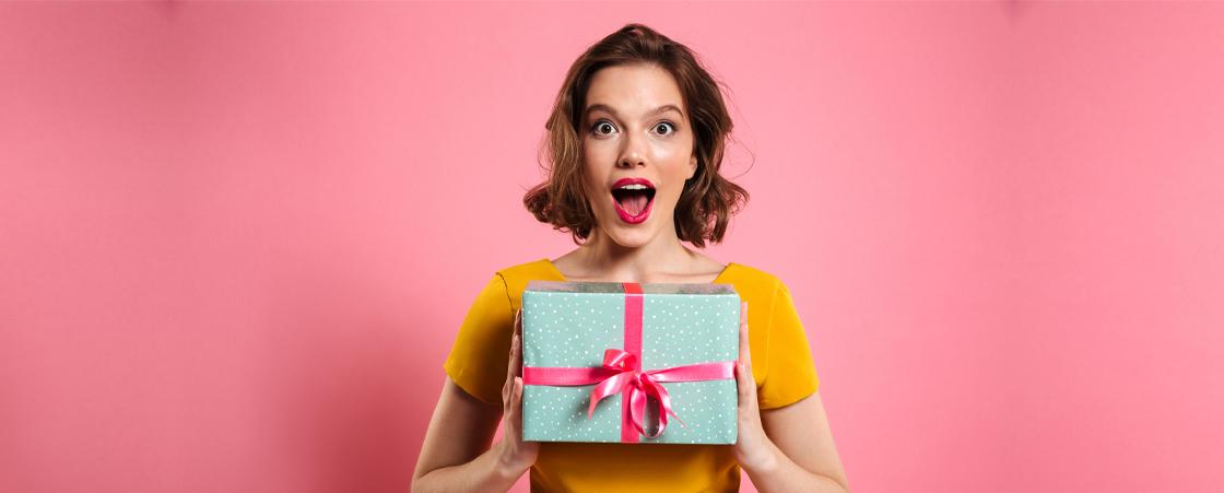 Cadeau original femme : Suprenez la et marquez les esprits