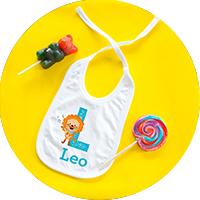 Linge et textile personnalisés pour un bébé